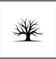 tree logo design root logo design vector image vector image