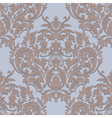 Vintage Damask Baroque ornament floral pattern vector image