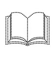 book sticker vector image