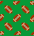 american football ballseamless pattern rugby vector image vector image