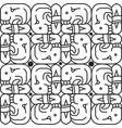 ancient icon backgound vector image vector image