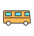 bus suitable for any topics vector image