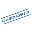 Card Only Watermark Stamp vector image