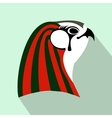 Horus icon flat style vector image vector image