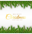 merry christmas background decorative design vector image