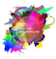 oil painting background vector image vector image