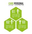 personal care design vector image