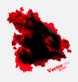 Red Spot Paint vector image vector image