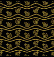 Seamless pattern with ropes anchors chain and