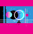 abstract background with different geometric vector image vector image