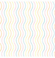 abstract geometric wavy line texture pattern vector image vector image