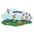 Amusement Park vector image