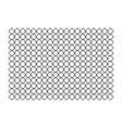 chain fence vector image vector image
