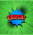 comic page explosive concept vector image vector image