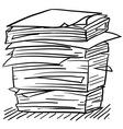 Doodle paper stack stress