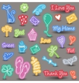 Everyday and home icons vector image vector image