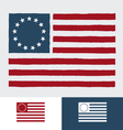 Original american flag vector | Price: 1 Credit (USD $1)