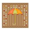Picture of umbrella vector image vector image