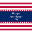 president s day in united states vector image vector image