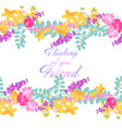 retro style with flowers vector image vector image