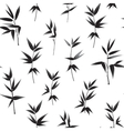 Seamless wallpaper of bamboo vector image vector image