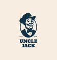 uncle jack vector image vector image