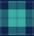 blue tartan plaid scottish pattern vector image