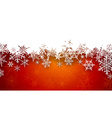 Christmas red abstract background vector image