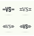 Versus sign vecctor vector image vector image