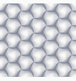 3d hexagon tile brick pattern for decoration and vector image vector image