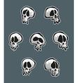 7 Skulls vector image vector image
