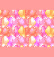 seamless cute pattern with multicolored pink vector image