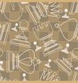 Chess piece seamless pattern