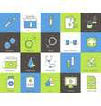 line icons set of medical collection concept vector image vector image