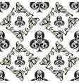 Pattern Club Ornamental Black and White