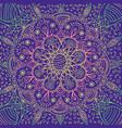 psychedelic mandala background fantastic vector image