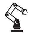 Robot hand vector image vector image