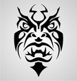Tribal Face vector image vector image