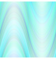wave background from thin colorful wavy lines vector image vector image