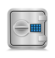 Closed safe vector image