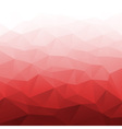 Abstract Gradient Red Geometric Background vector image vector image