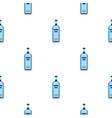 bottle of vodka pattern flat vector image vector image