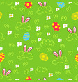 easter background seamless pattern vector image vector image