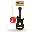Music design music note icon Isolated vector image vector image
