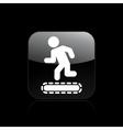 treadmill single vector image vector image