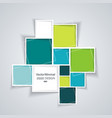 abstract background with paper frames vector image vector image