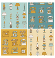 Backgrounds with Vintage Telephone vector image vector image