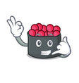 call me ikura mascot cartoon style vector image vector image