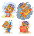 funny for greeting cards and vector image vector image