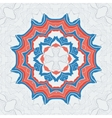 hand drawn decorative elements in tribal vector image